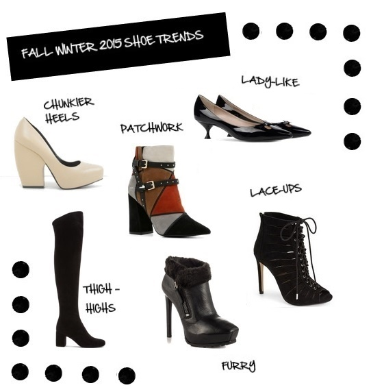 Fall WInter 2015 Shoe Trends